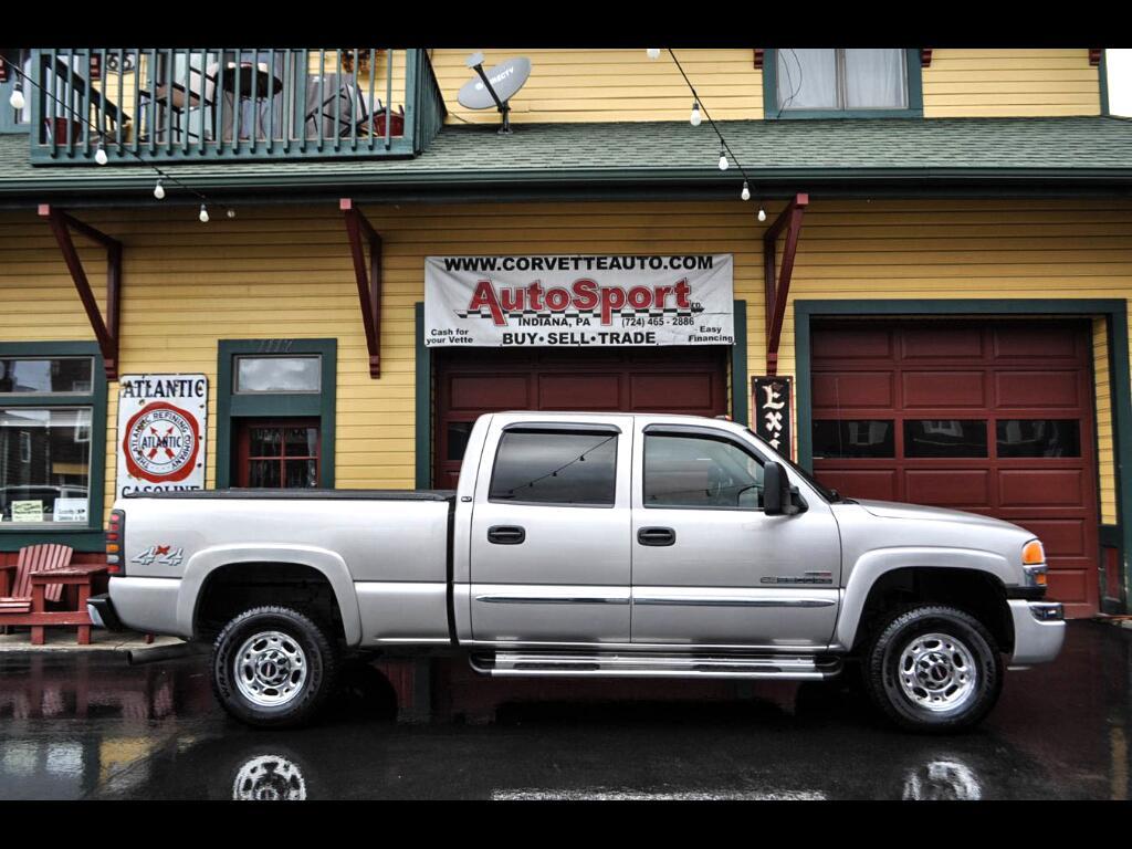 2006 GMC Sierra 2500HD SLT Crew Cab 4WD