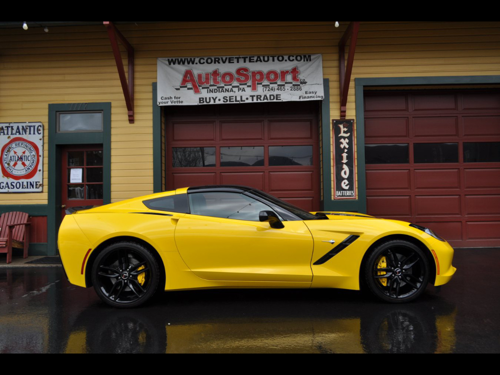 2014 Chevrolet Corvette Stingray Z51 1LT Coupe Automatic