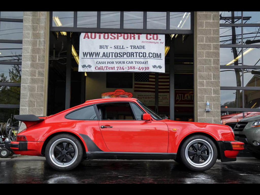 1985 Porsche 911 Carrera 911 Carerra Factory Wide Body