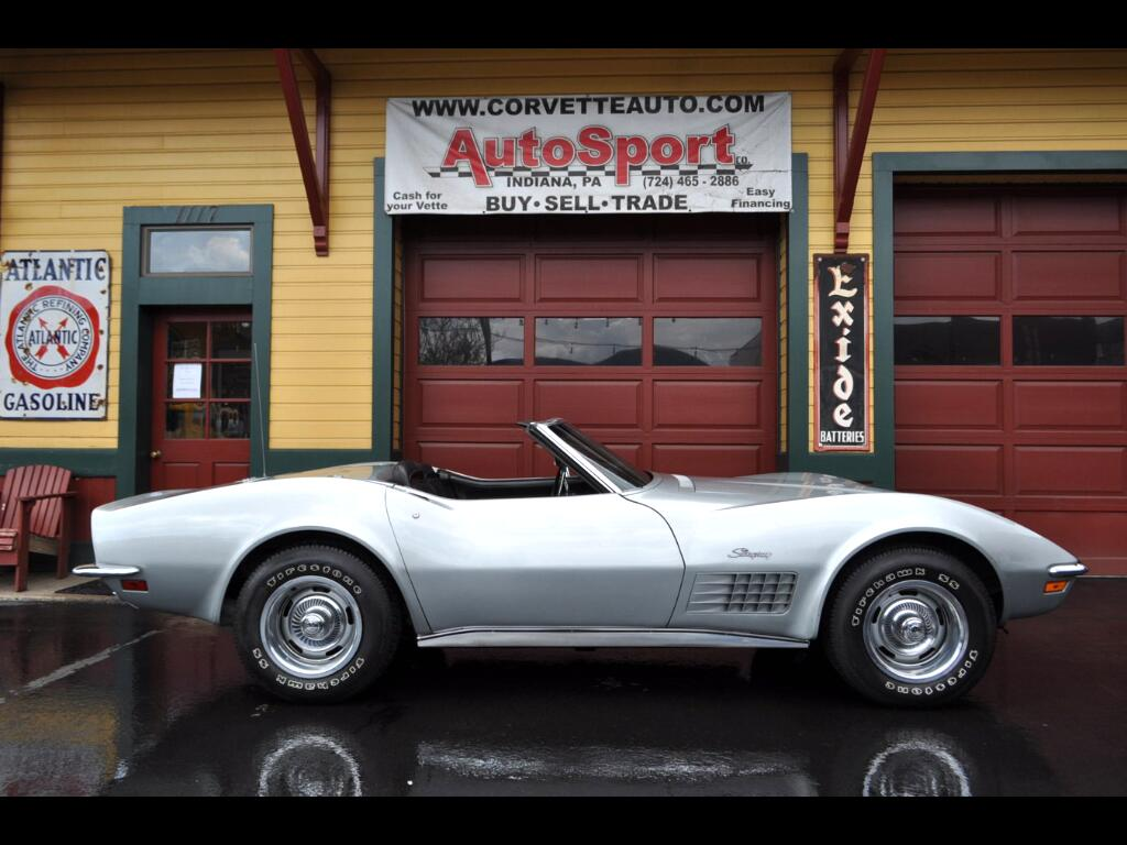 1970 Chevrolet Corvette Original 1 Owner #'s Match 350hp Original Docs!