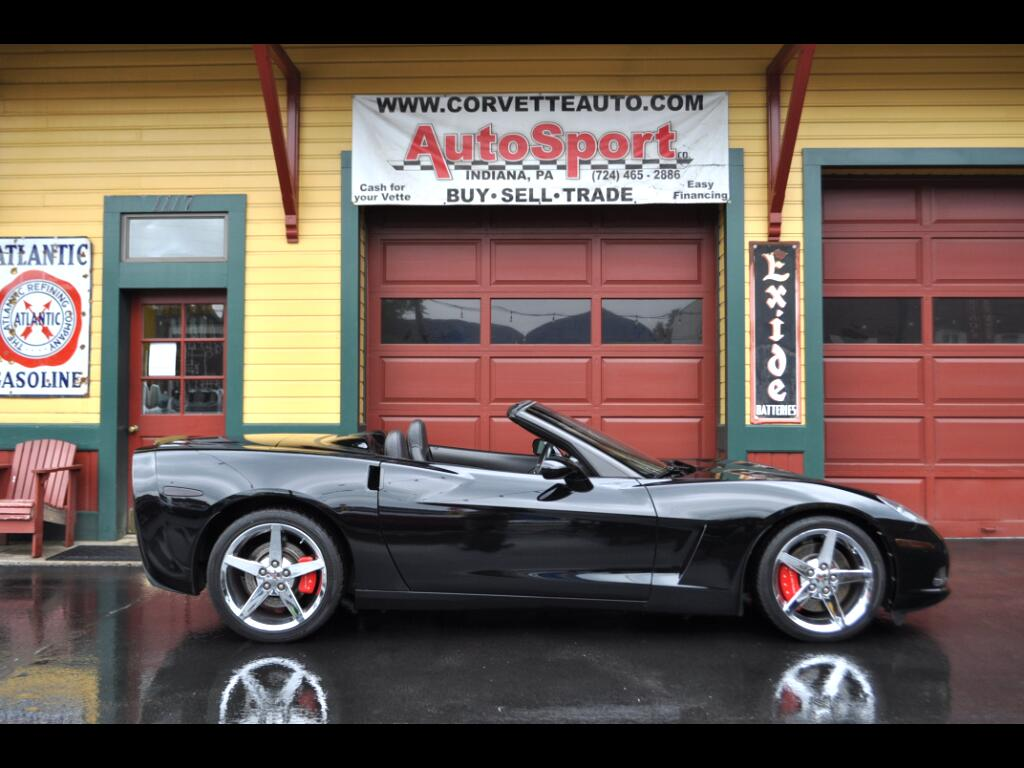 2007 Chevrolet Corvette 2007 Triple Black Convertible Corvette!