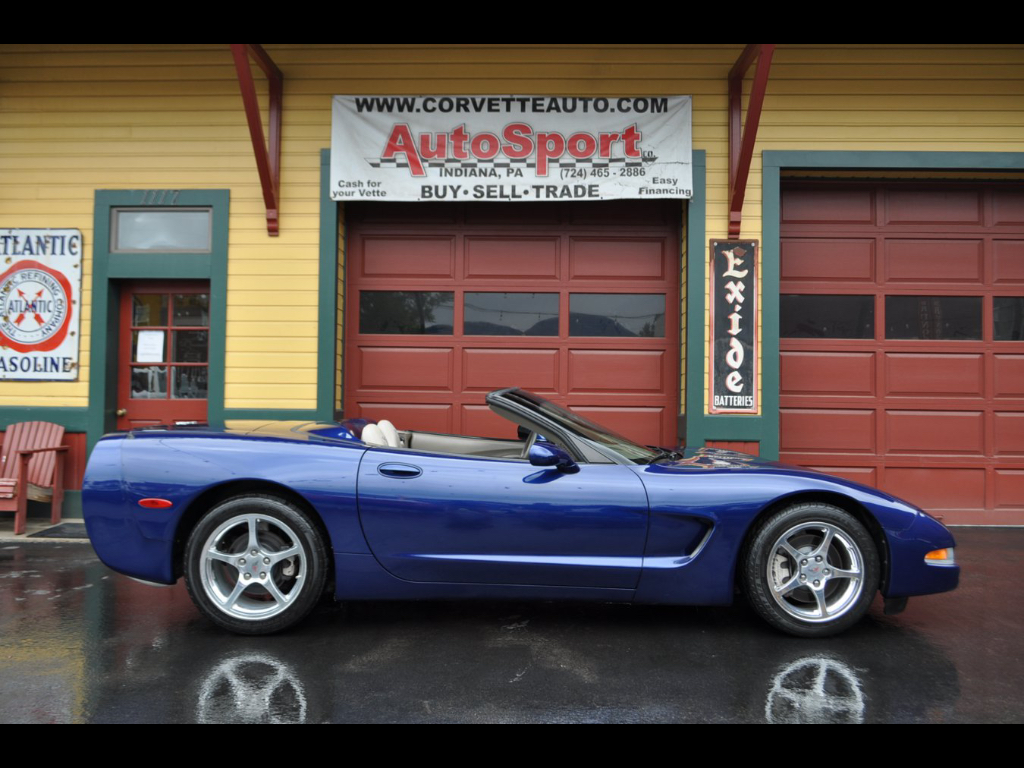 2004 Chevrolet Corvette Commemorative Edition LeMans Blue Corvette!