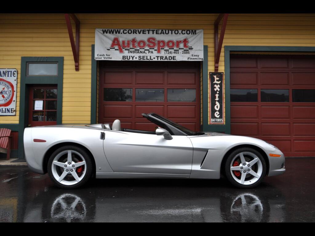 2006 Chevrolet Corvette 13k Miles! Rare Color Combo! 6sp Paddle Shift!