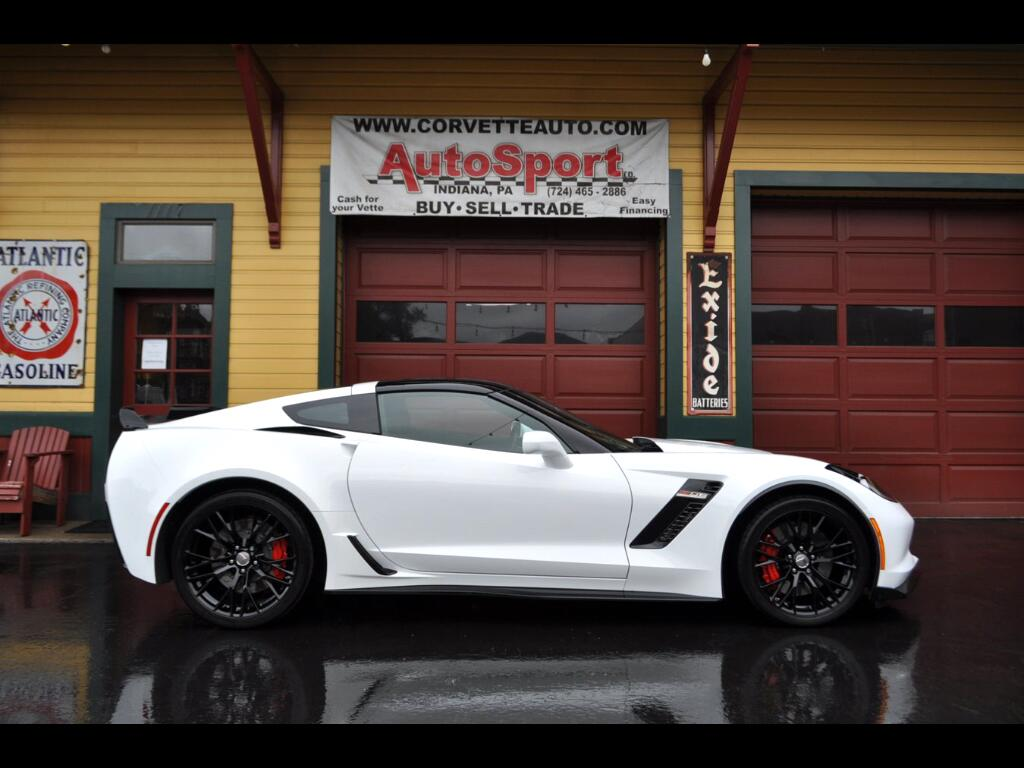 2016 Chevrolet Corvette 1 Owner Z06 3LZ 4k Miles Artic White Carbon Fiber
