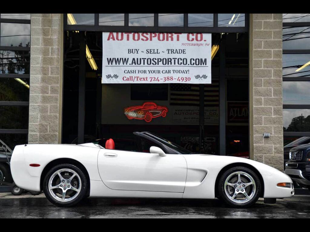 2001 Chevrolet Corvette Convertible 1 of 18 Produced!!