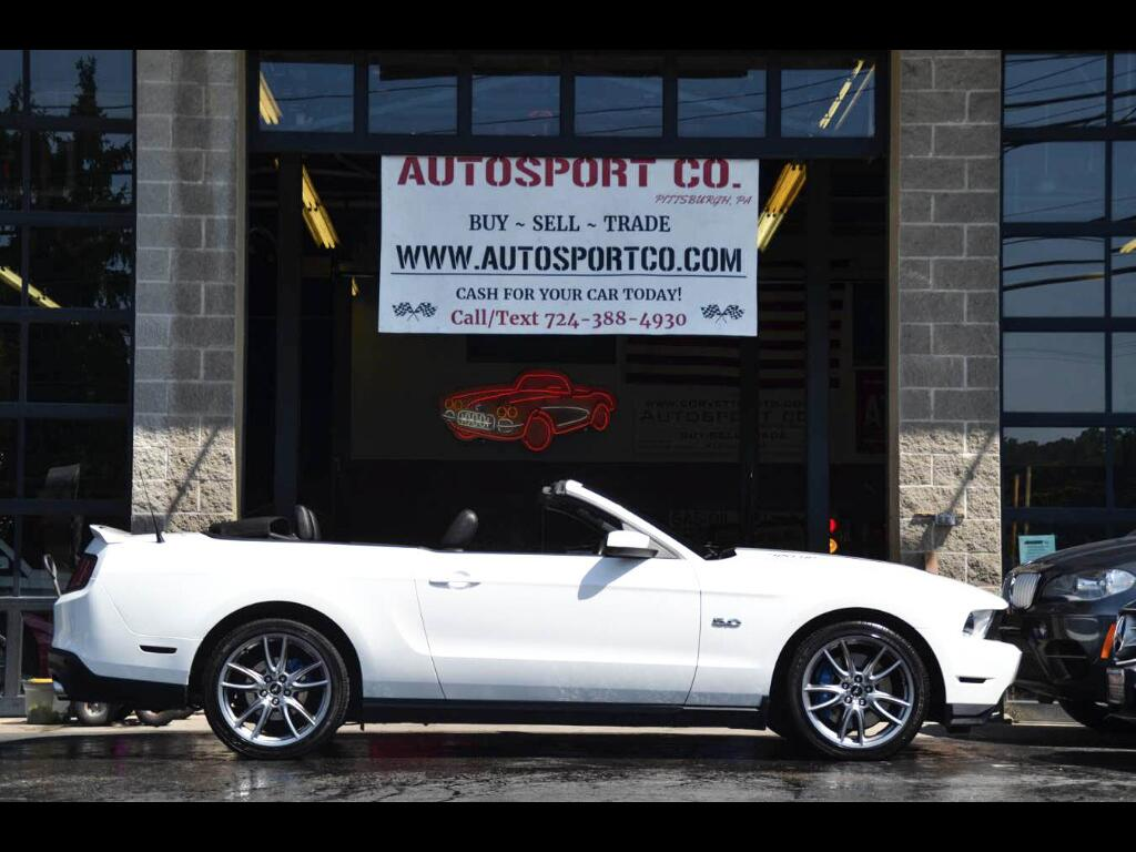 2012 Ford Mustang GT Convertible w/ Brembo Brake Pkg.