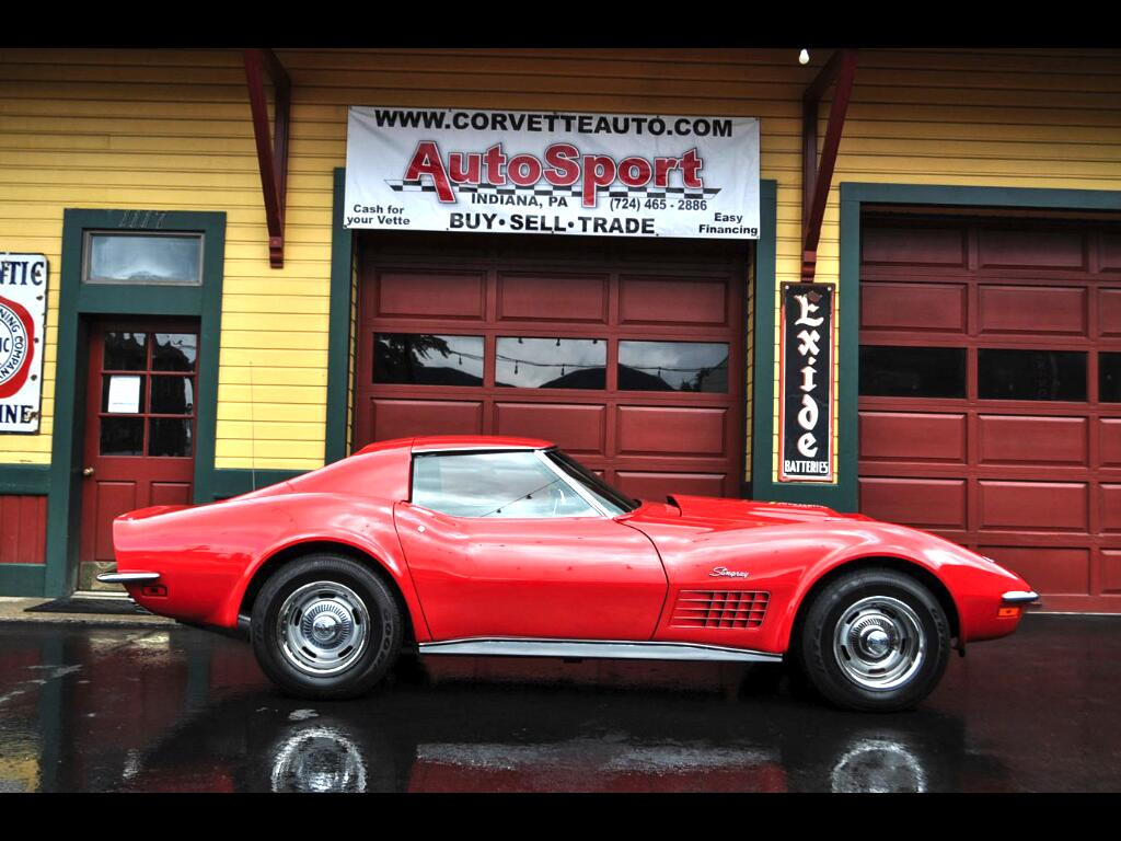 1971 Chevrolet Corvette Documented Frame Off Restored #'s Matching Org Doc