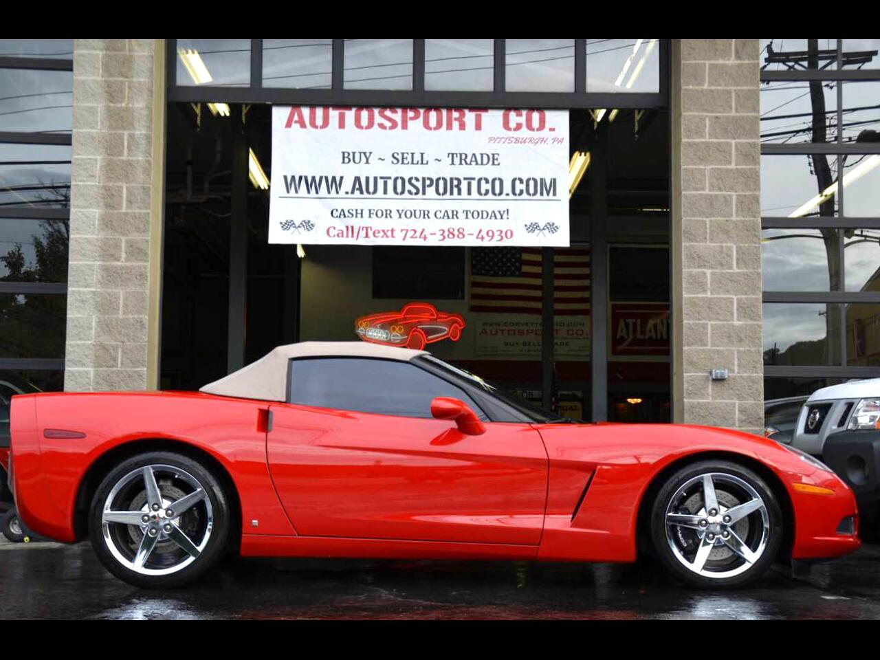 2008 Chevrolet Corvette Convertible LT3 Z51 Pkg.