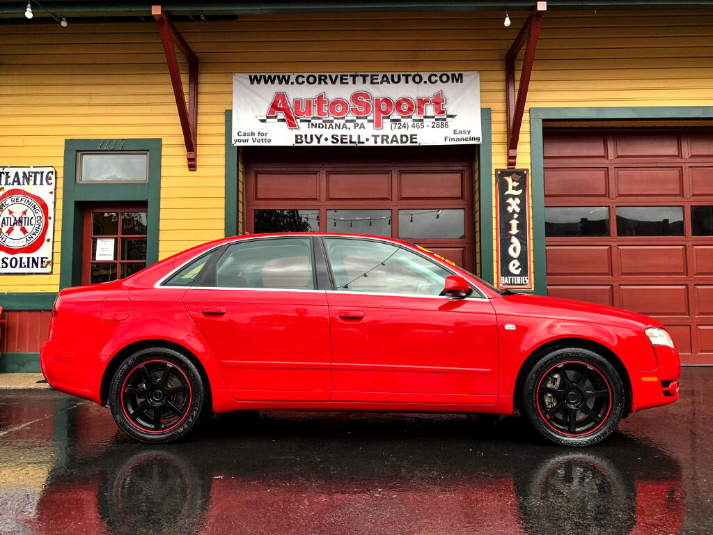 Audi A4 3.2 quattro with Tiptronic 2007