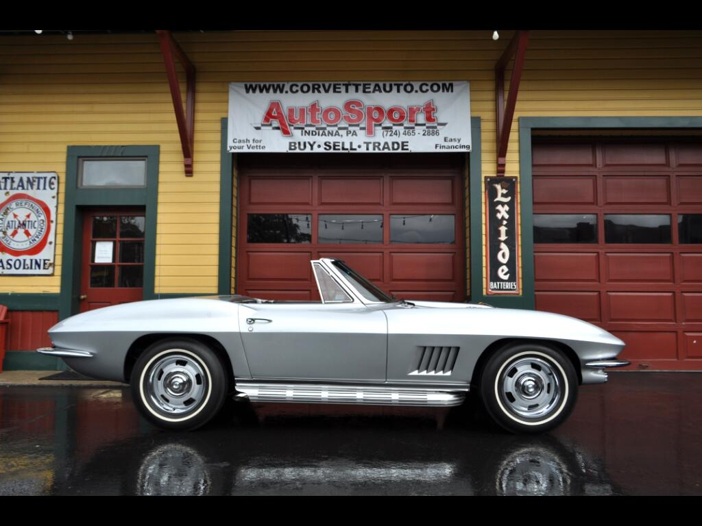 1967 Chevrolet Corvette Frame Off Restored 435hp Org Build Sheet