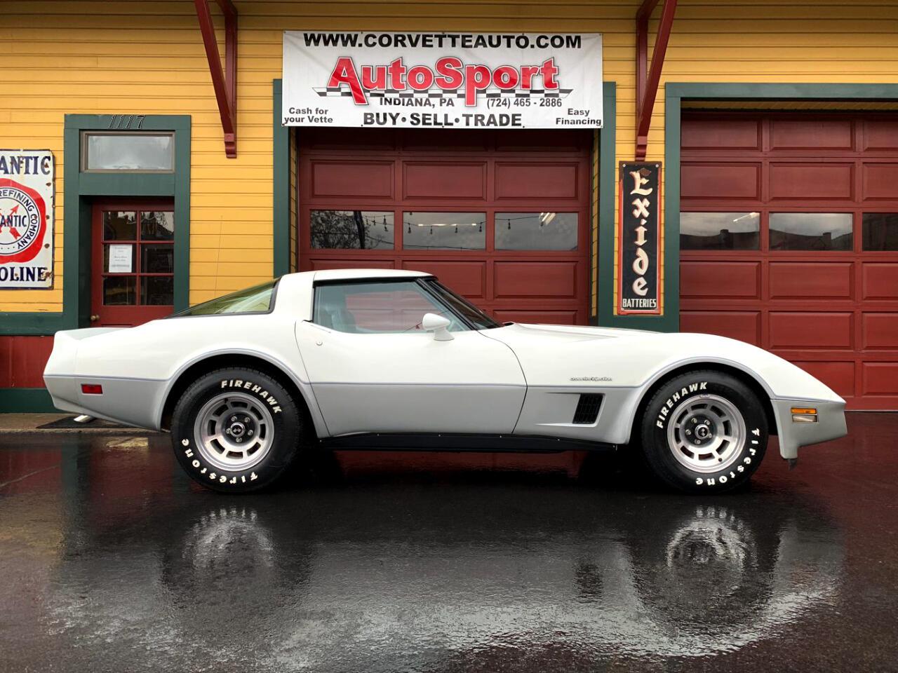 1982 Chevrolet Corvette 1982 Rare Color Combo 33k Org Miles Org Window Sti