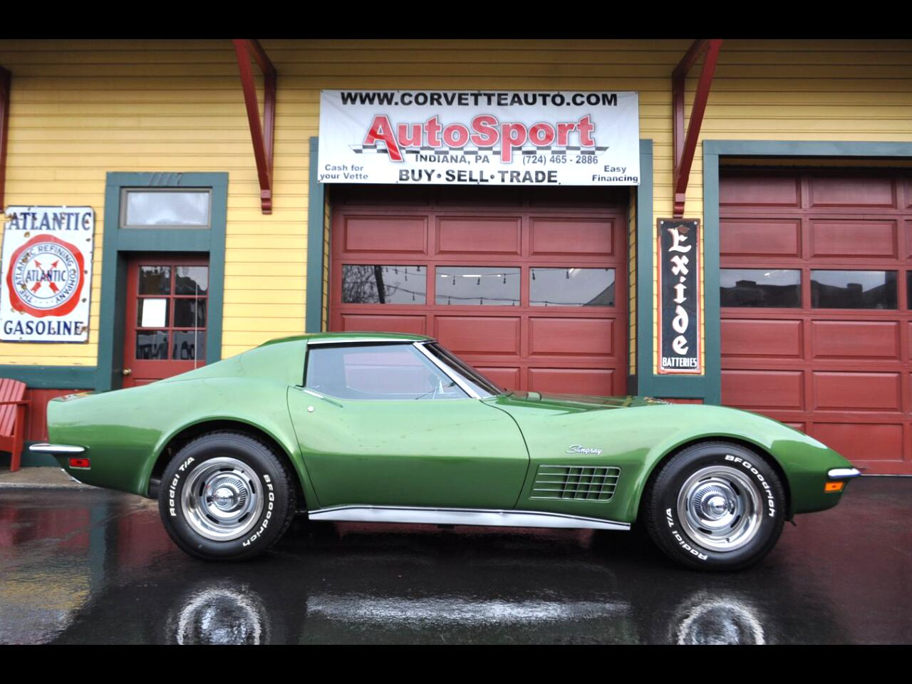1972 Chevrolet Corvette 24k Org Miles! Org Docs! Rare Color Loaded! 1972 C
