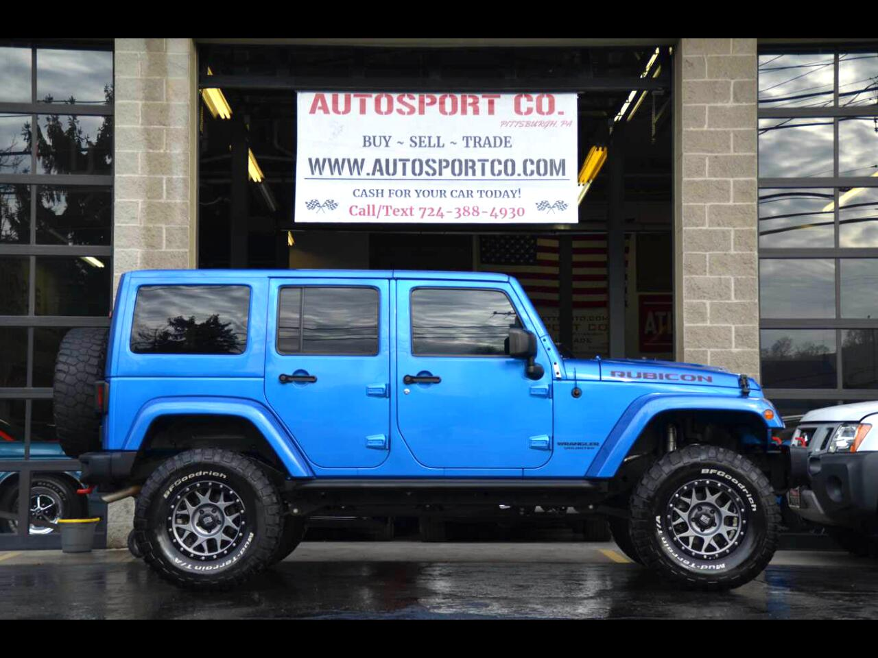 2016 Jeep Wrangler Unlimited Rubicon Hard Rock Edition 4WD