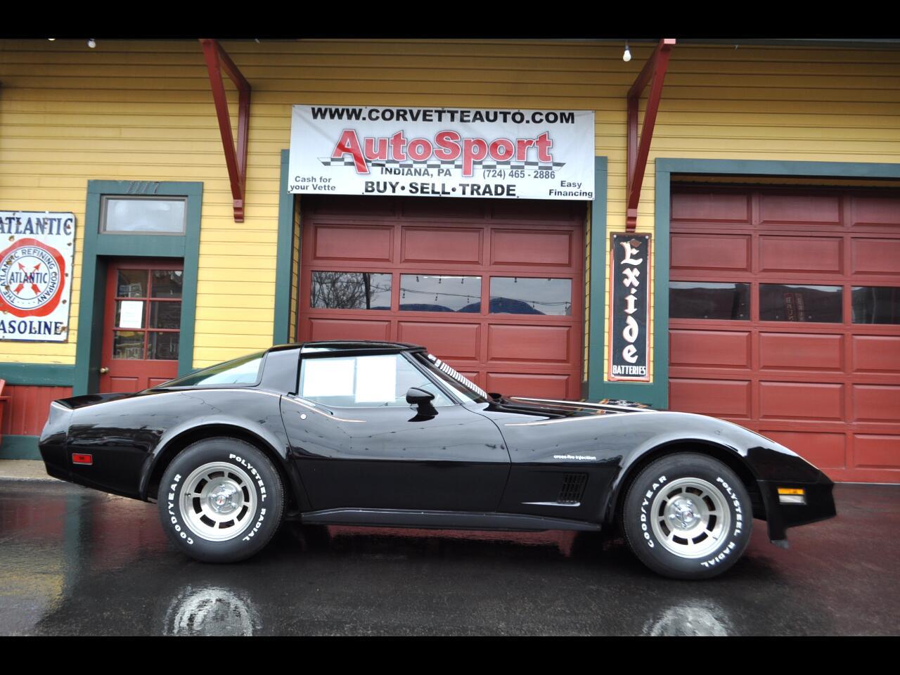1982 Chevrolet Corvette 1 owner 4k org miles org docs stunning Corvette