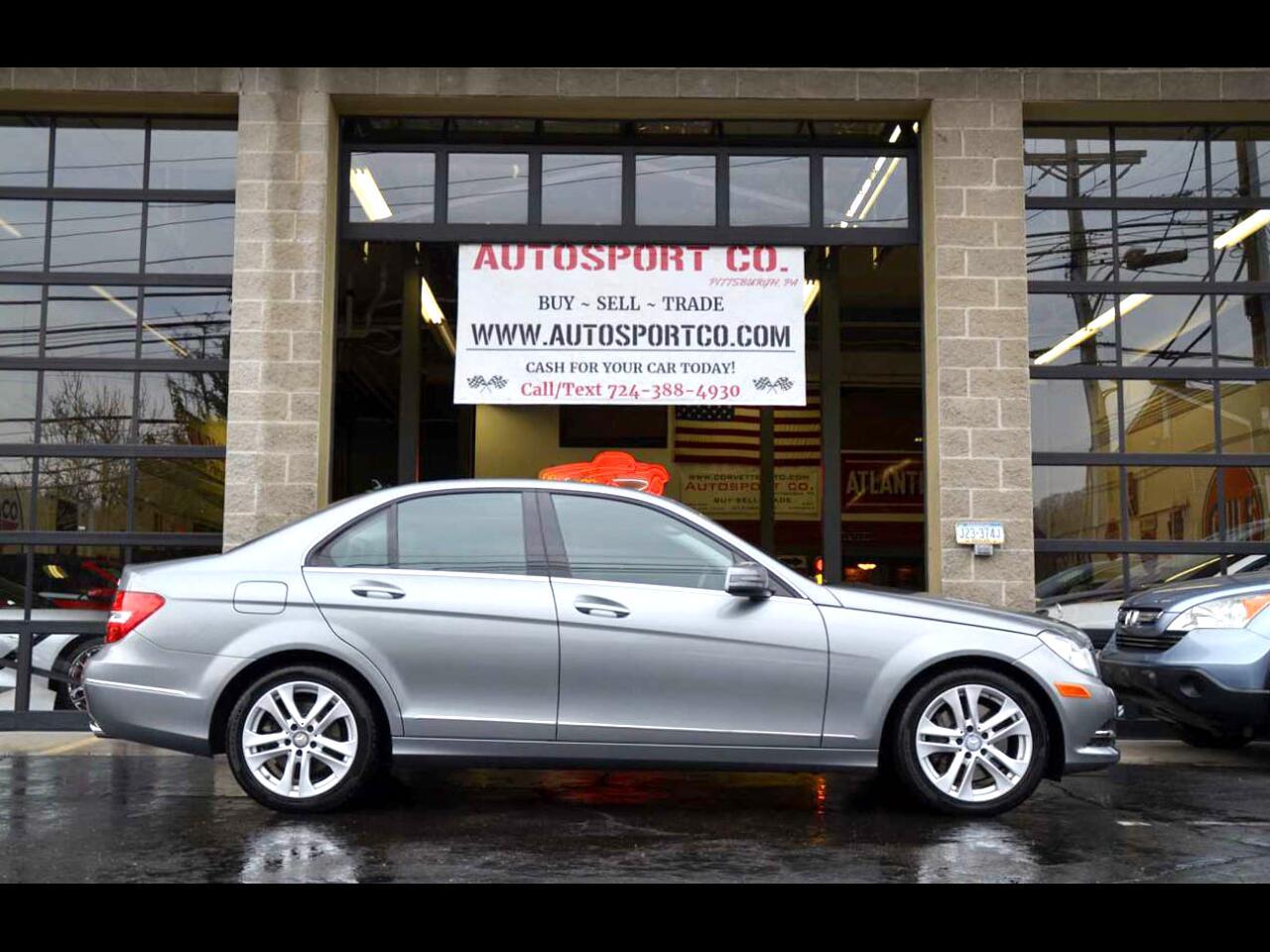 2014 Mercedes-Benz C-Class C300 4MATIC Luxury Sedan