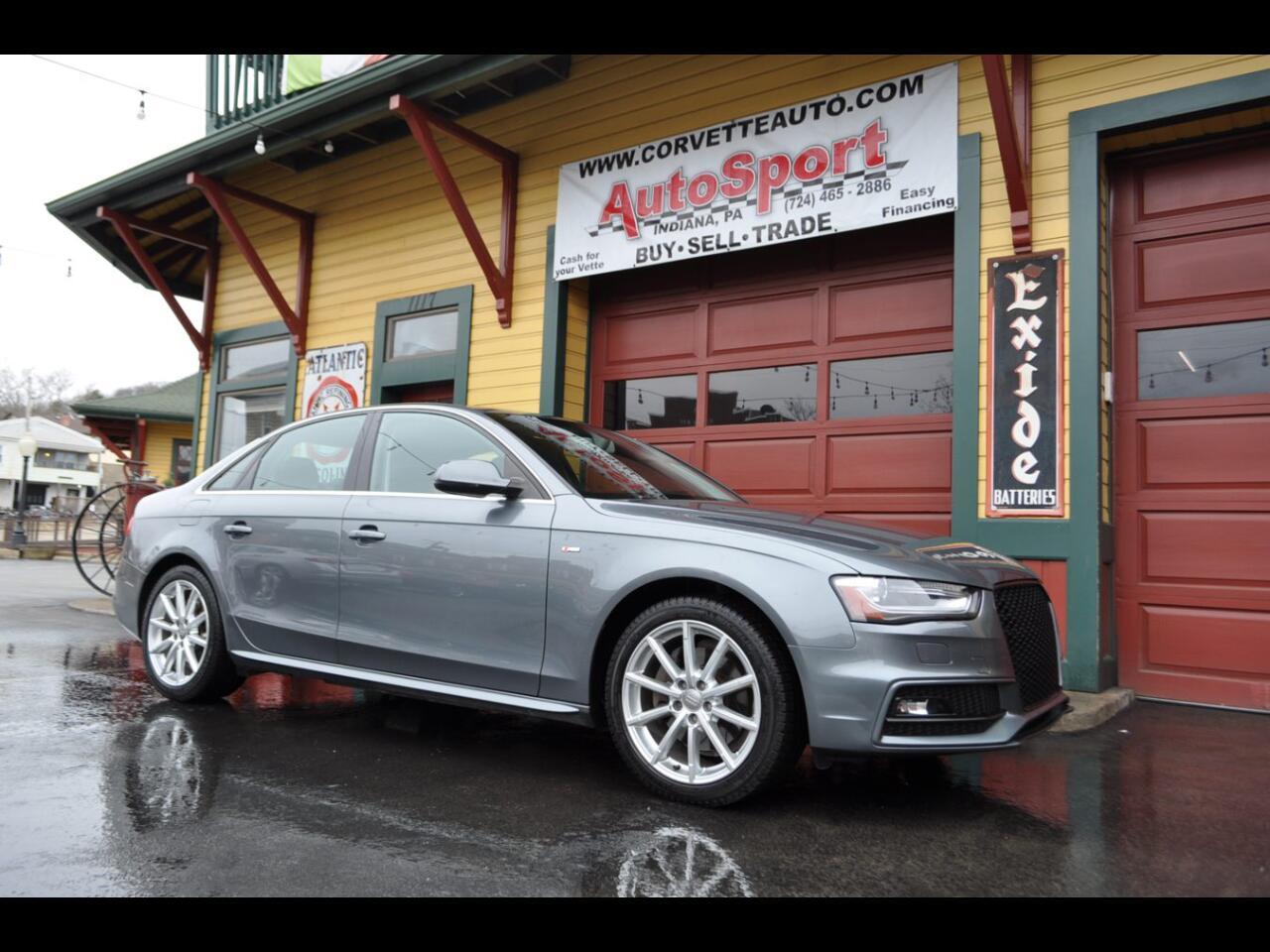 2014 Audi A4 Premium Plus quattro Sdn
