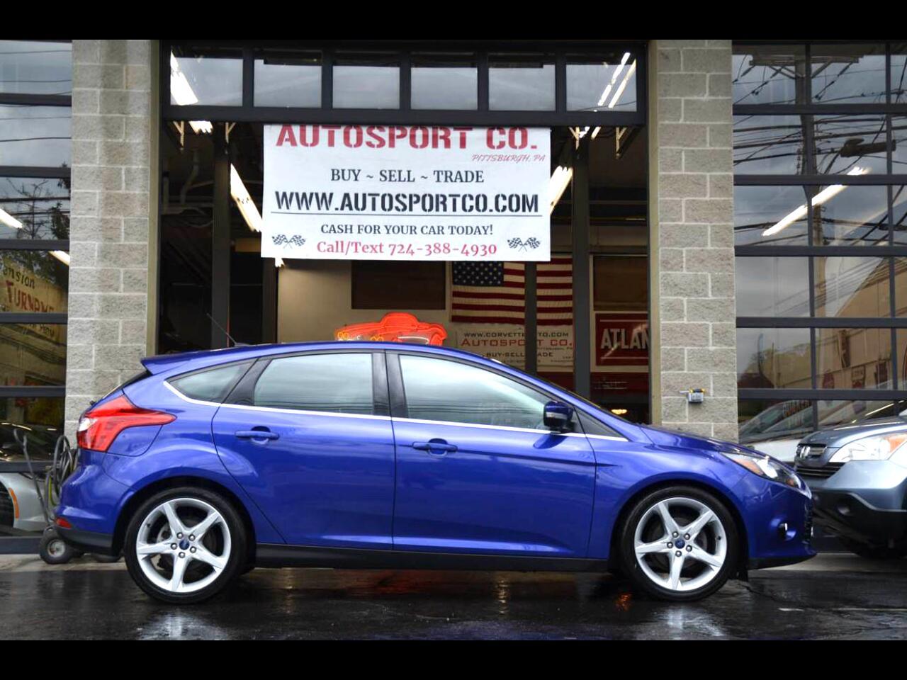 2014 Ford Focus Titanium Hatch