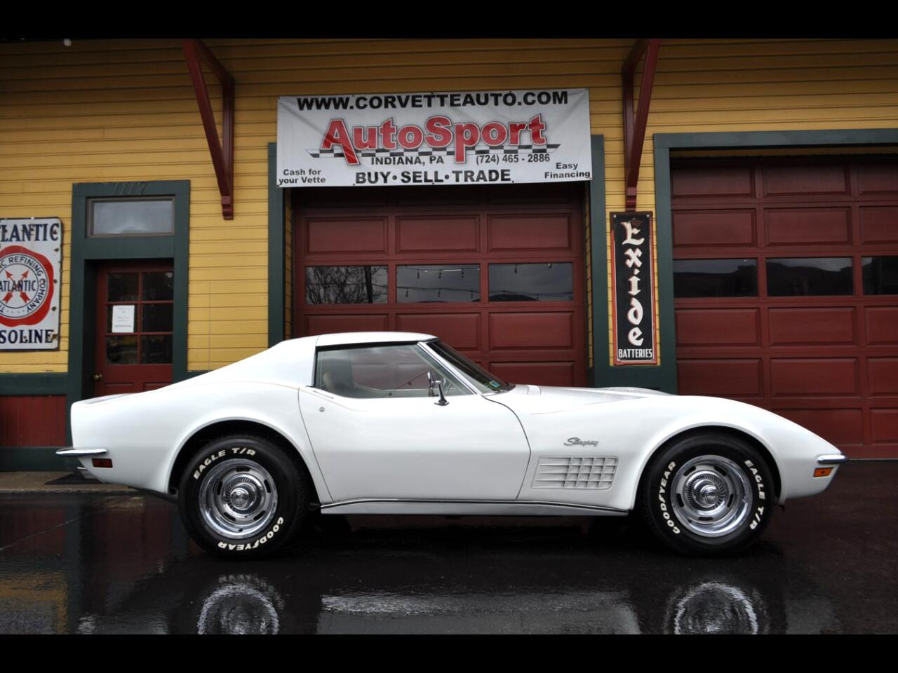 1970 Chevrolet Corvette 1970 #'s Matching Fully Loaded AC PS PB PW Leather