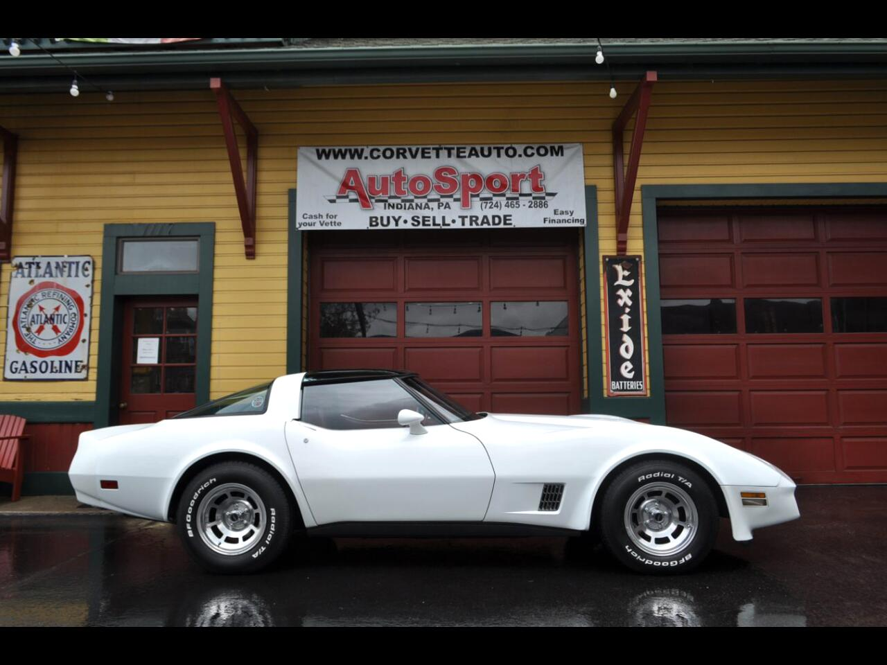1981 Chevrolet Corvette 1981 9k Org Miles White/Red Org Docs Loaded!