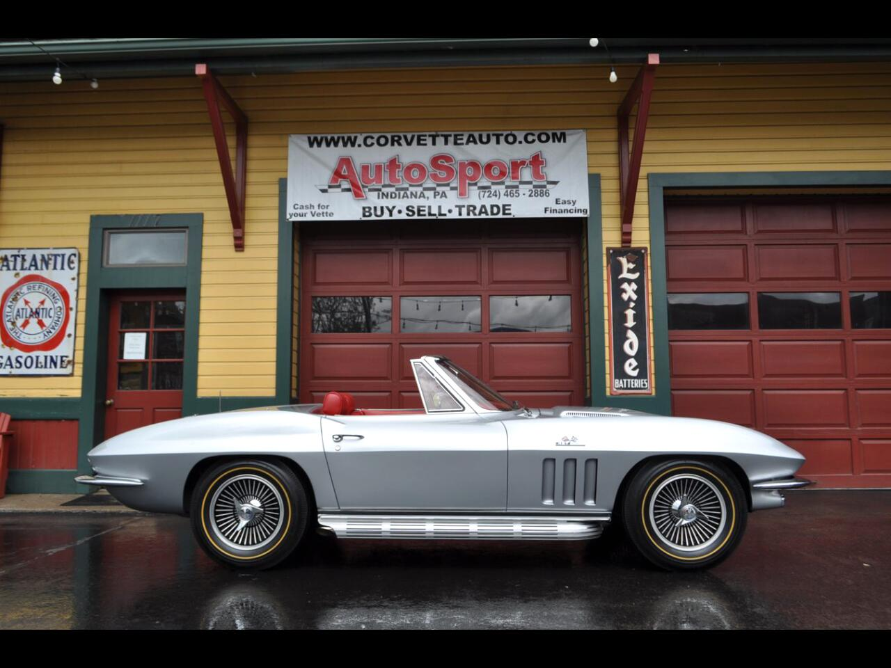 1966 Chevrolet Corvette 1966 425hp Silver Pearl/Red Custom Ordered 1 of ?