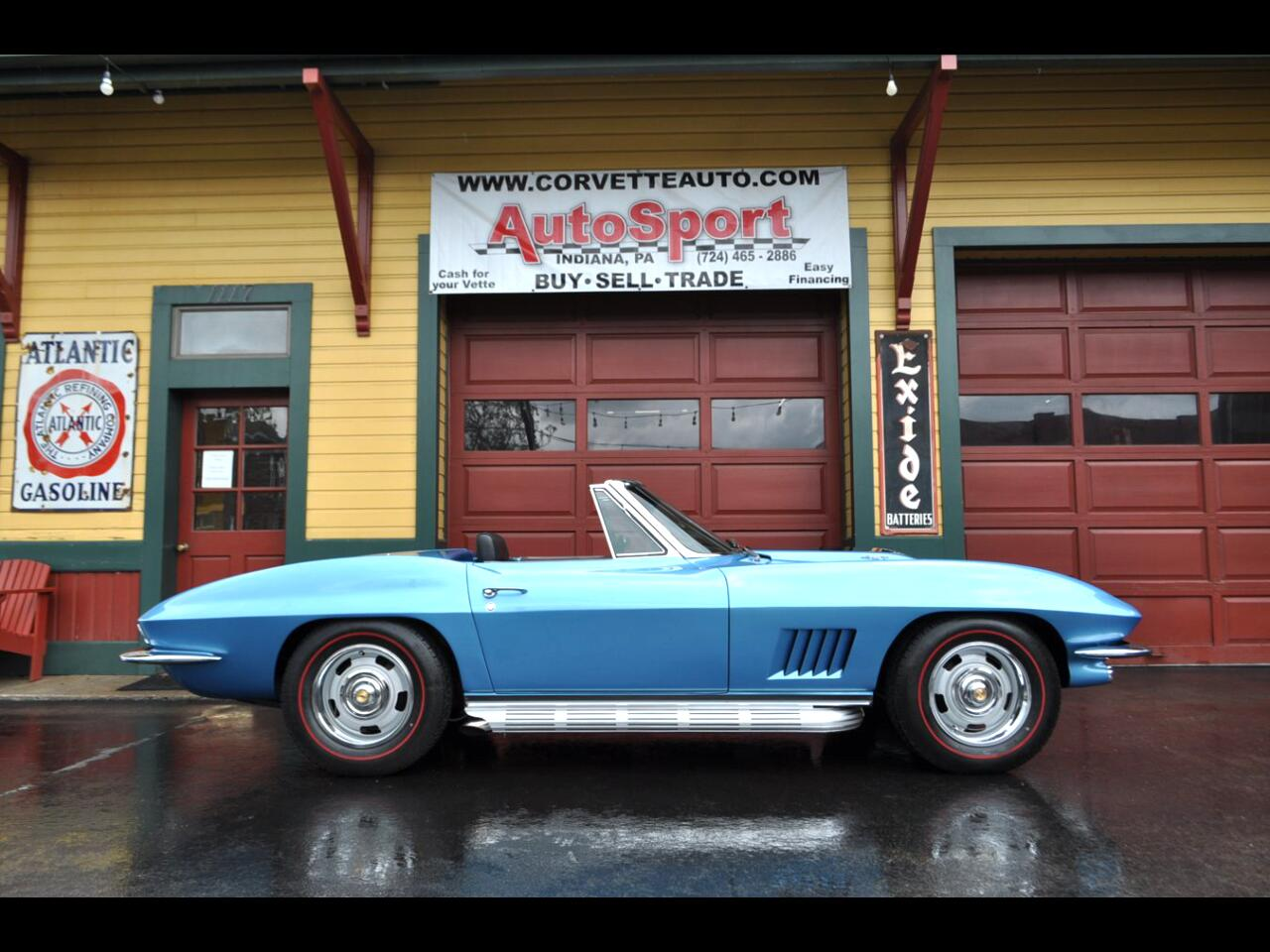1967 Chevrolet Corvette 1967 Marina Blue Nut Bolt Frame Off Restored 435hp