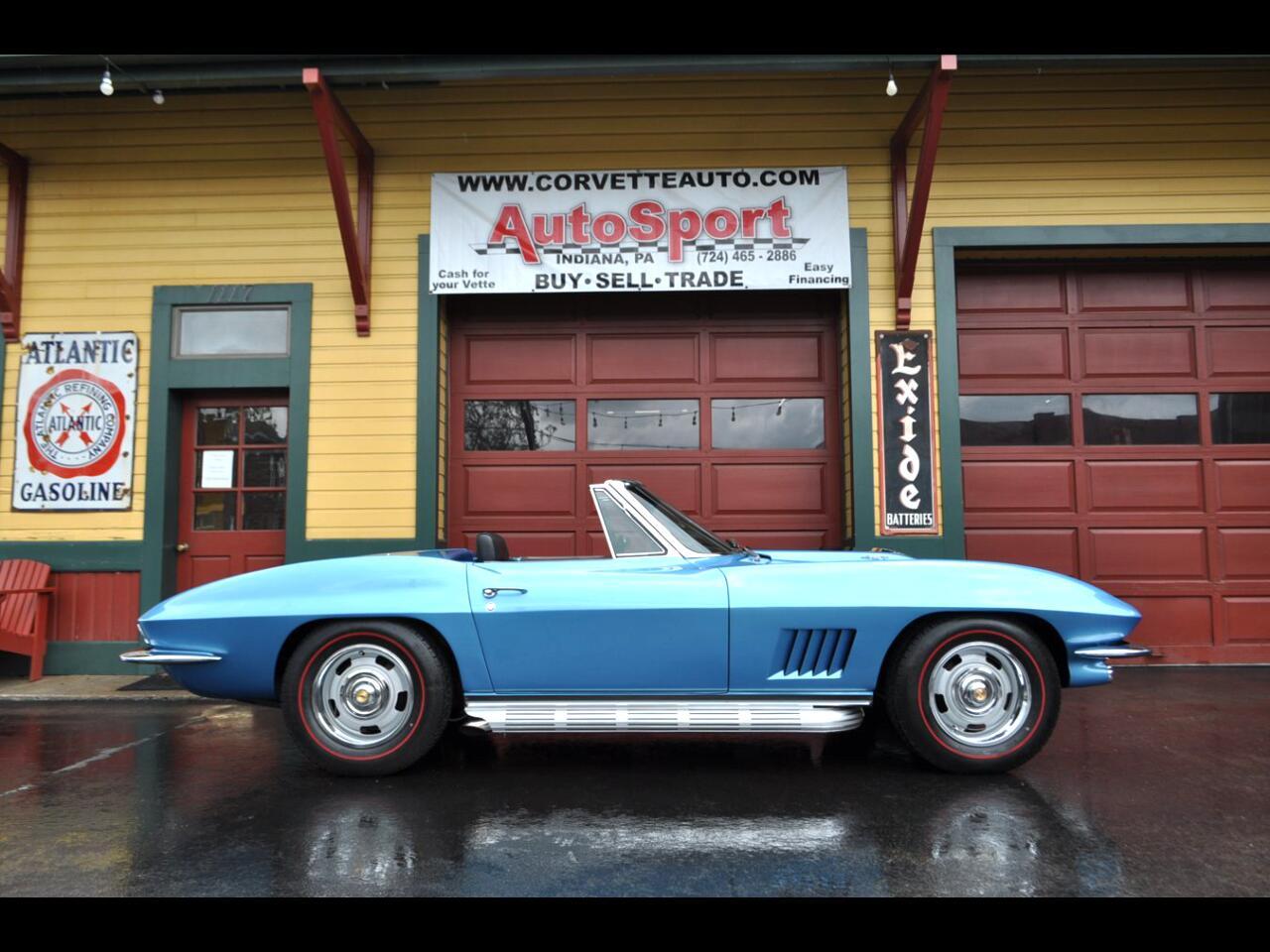 1967 Chevrolet Corvette 1967 Marina Blue Nut Bolt Frame Off Restored 435hp