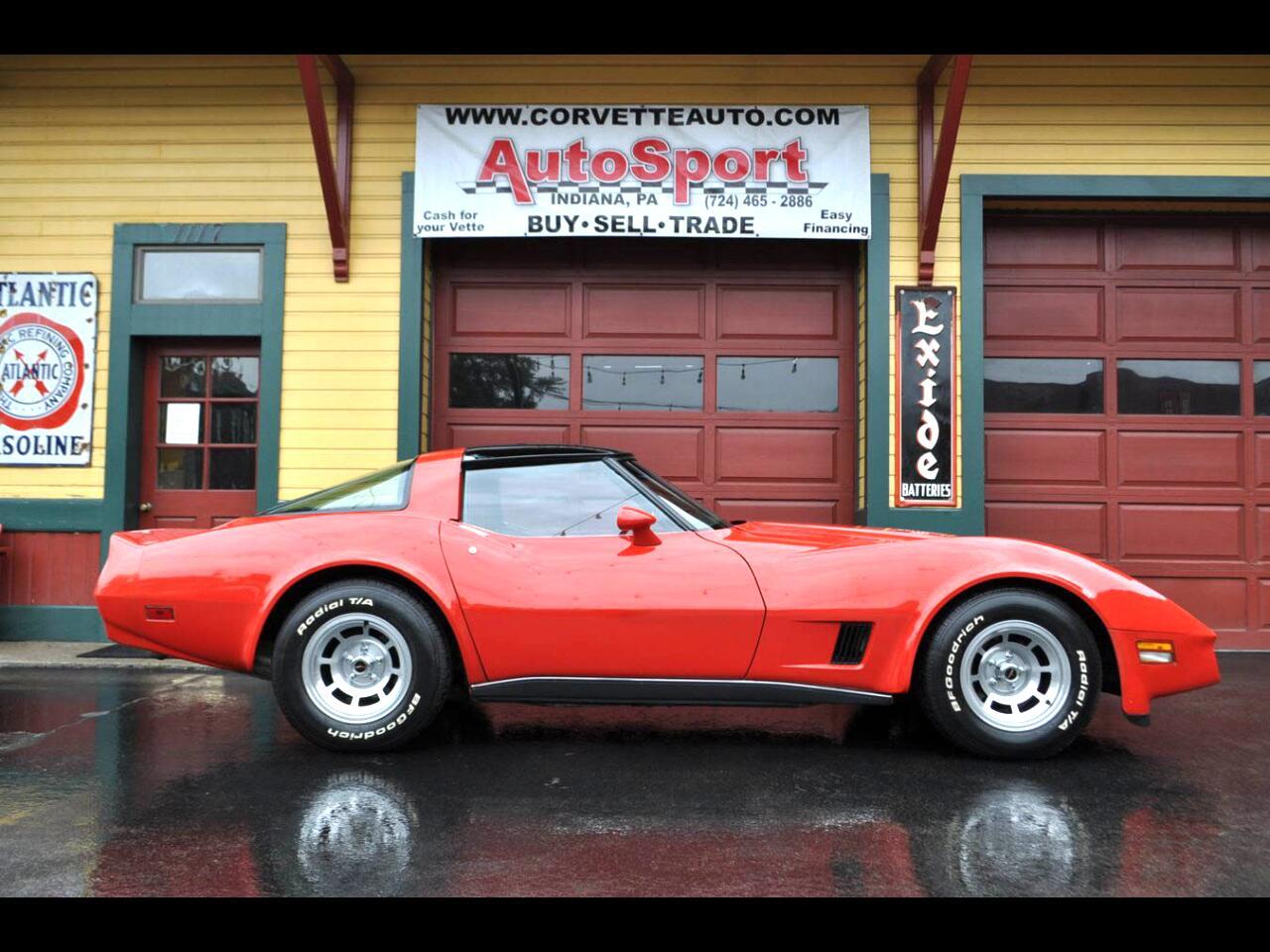 1980 Chevrolet Corvette 1980 Red/Red Org Docs 12k Org Miles All Orginal!