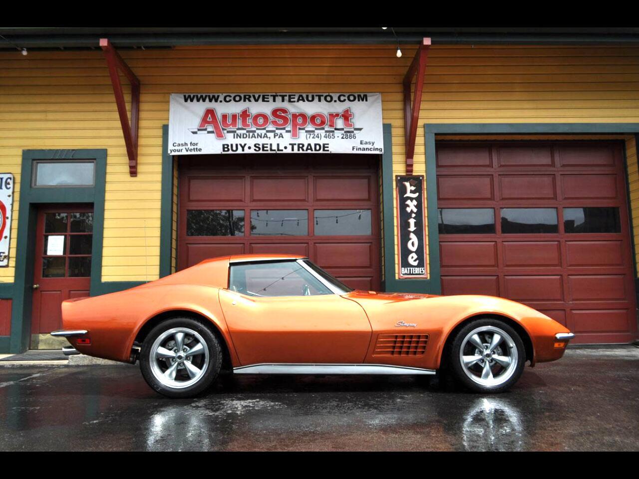 1972 Chevrolet Corvette 1972 #'s Matching 4sp Custom Orange Corvette!