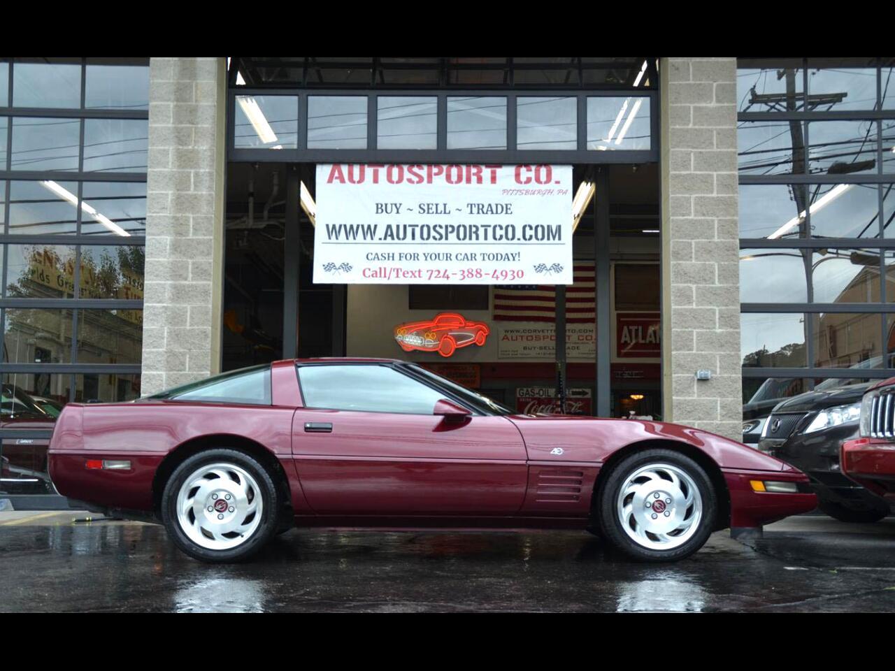 1993 Chevrolet Corvette 40th Anniversary Edition ~ Rare 6-Speed Manual