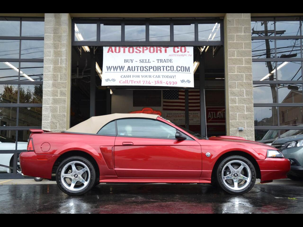 2004 Ford Mustang GT Premium Convertible  / 40th Anniversary Edition