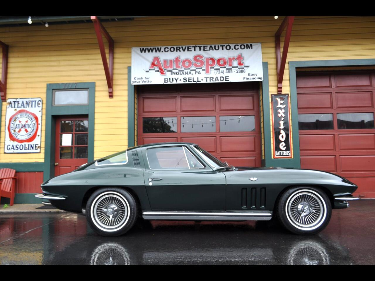 1965 Chevrolet Corvette 1965 #'s Match 365hp Factory AC Loaded Extremely R