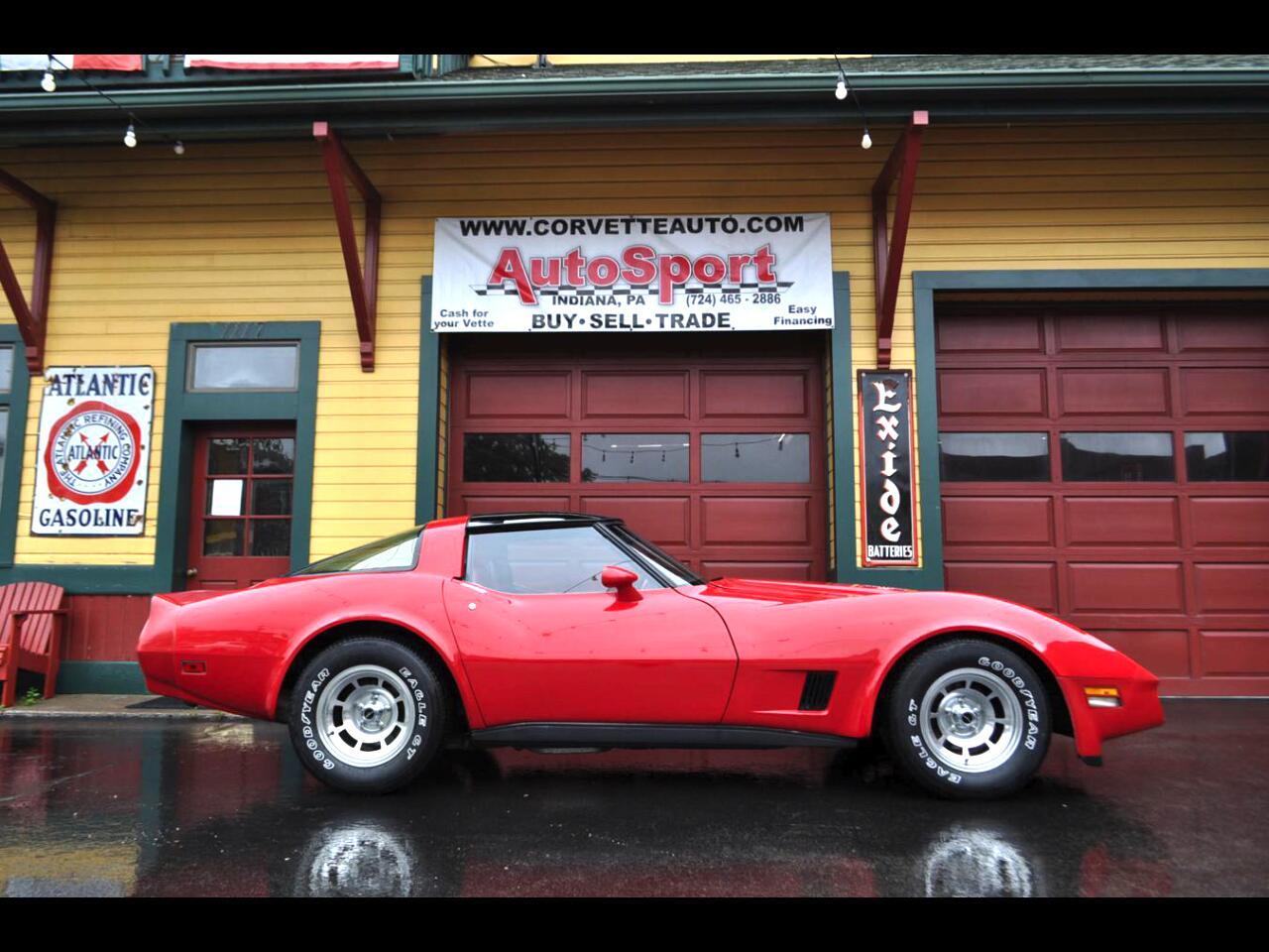 1981 Chevrolet Corvette 1981 Red/Red 19k Org Miles Org Docs!