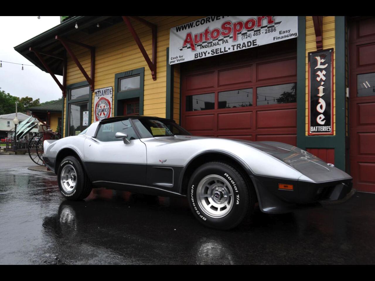 1978 Chevrolet Corvette 1978 L82 4 Speed Silver Anniversary Corvette!