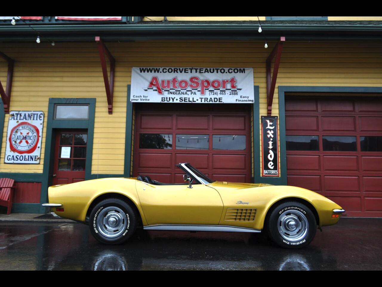 1971 Chevrolet Corvette 1971 #'s Match Fully Loaded w Rare Options Corvett