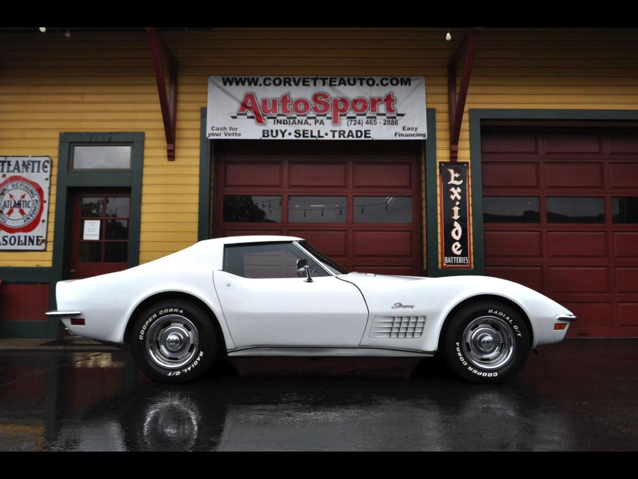 1972 Chevrolet Corvette 1972 Fully Loaded! W/ Origina Docs! Corvette Coupe