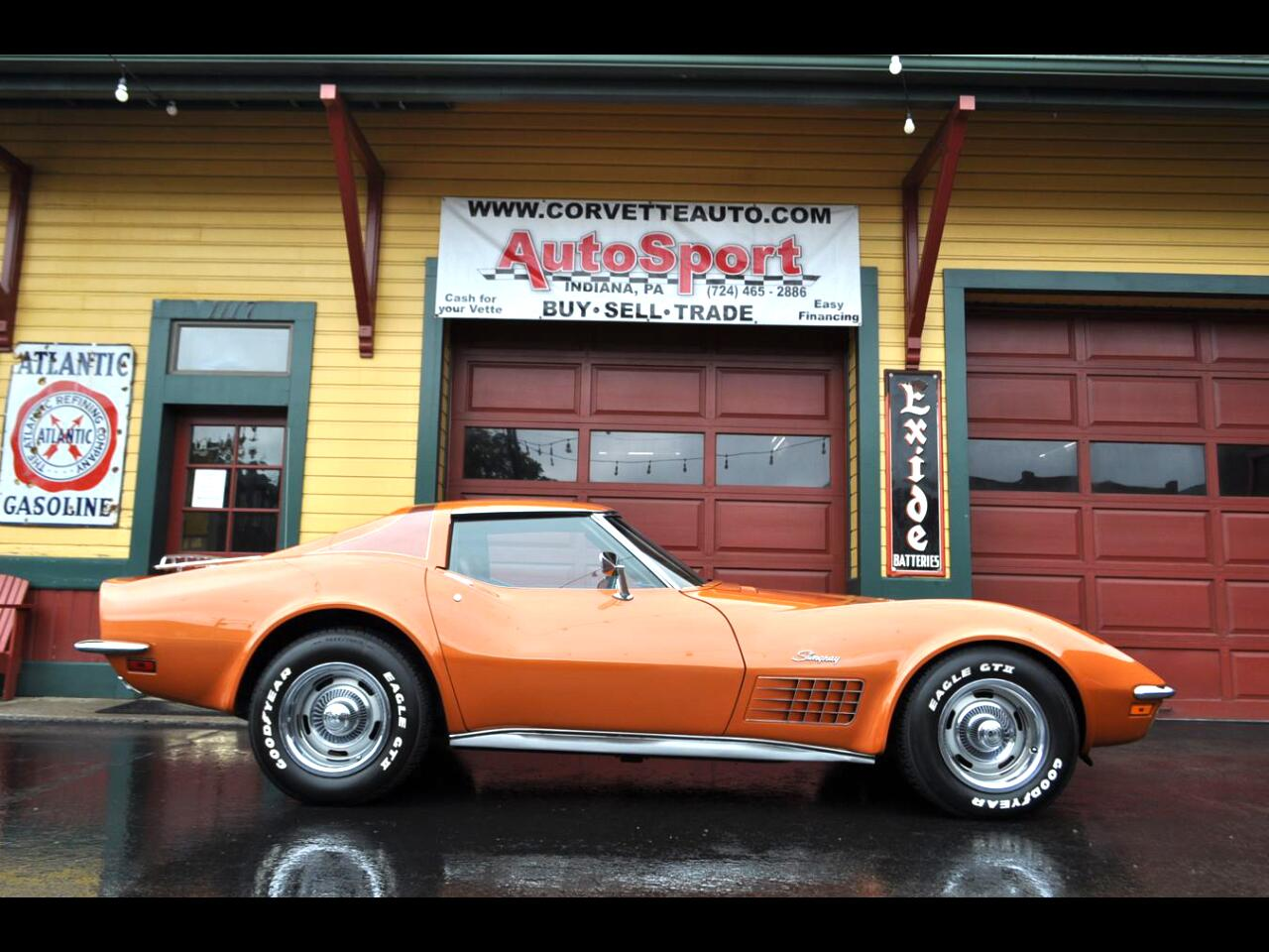 1972 Chevrolet Corvette 1972 #'s Matc Loaded w/ Factory AC Org Docs!