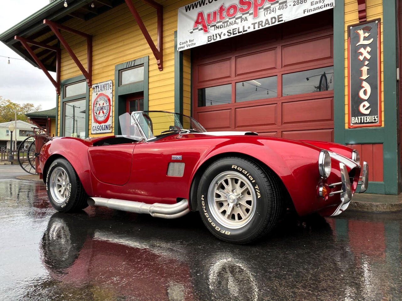 1965 Shelby Cobra Factory 5 Shelby Cobra 5.0 Pro-Charged V8