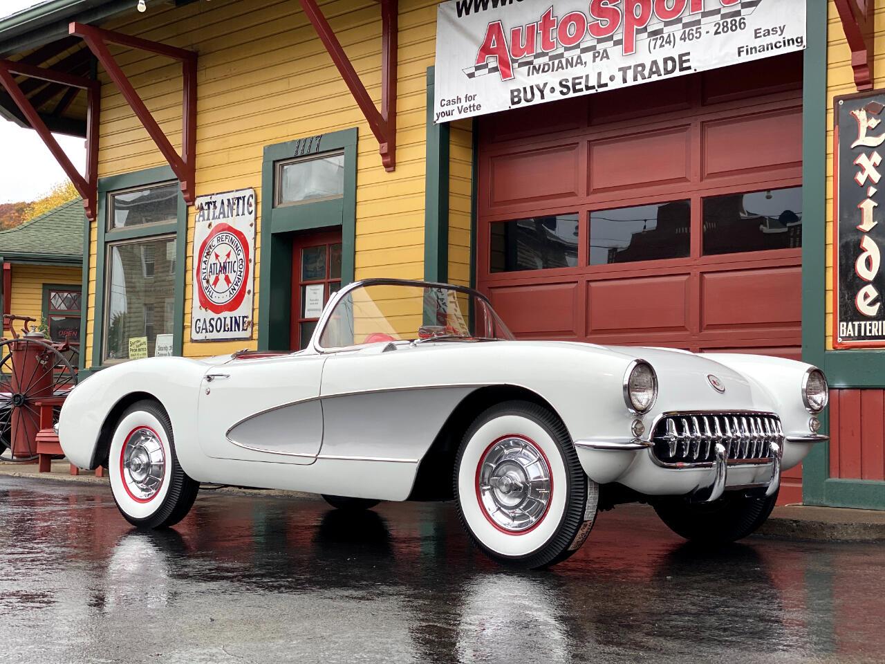 1956 Chevrolet Corvette 1956 Corvette Power Top 2x4's Automatic!
