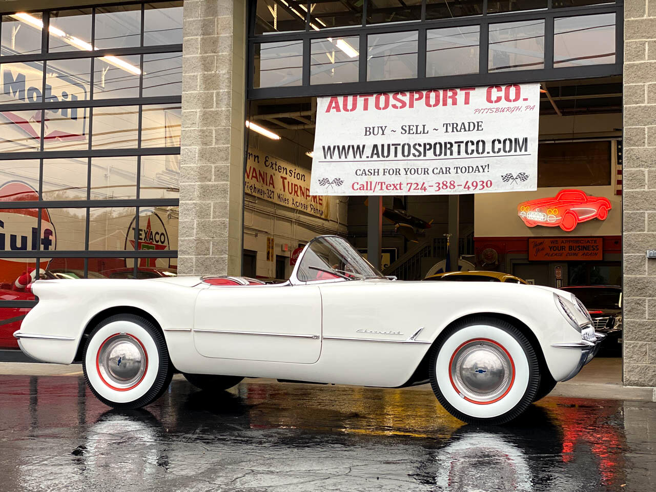 1953 Chevrolet Corvette ** 1953 Corvette Convertible Tribute **