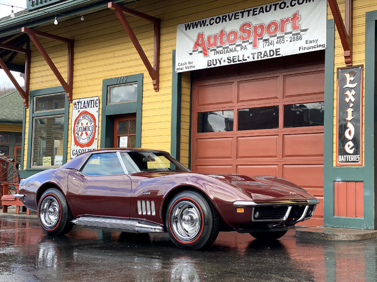 1969 Chevrolet Corvette 1969 Frame Off Restored 427ci Corvette Convertible