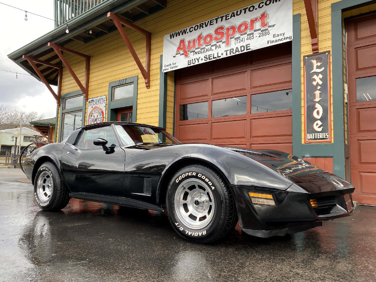 1981 Chevrolet Corvette 1981 Rare Black/Red 15k Org Miles! All Org Corvett