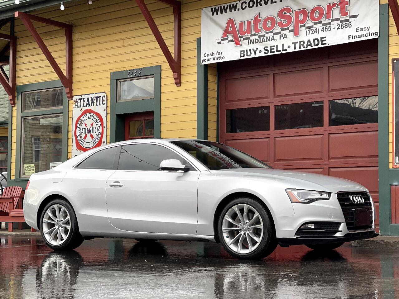 Audi A5 Coupe 2.0T quattro Tiptronic 2014