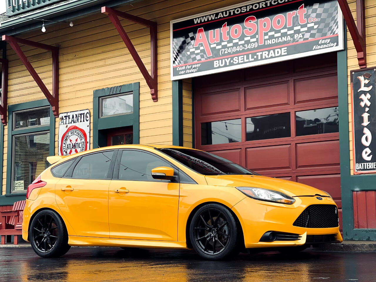 Ford Focus ST Hatch 2014