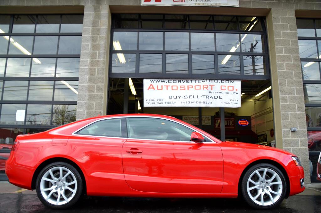Audi A5 Coupe 2.0T quattro Tiptronic 2012