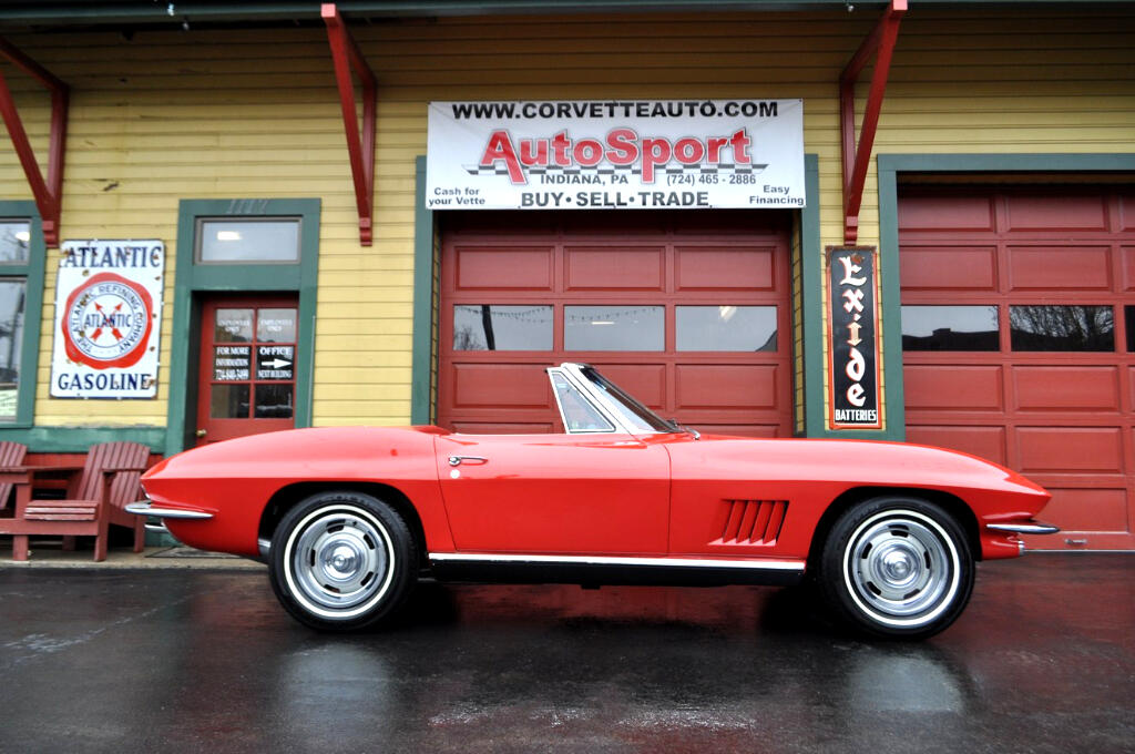 1967 Chevrolet Corvette Red Red Frame Off Restored