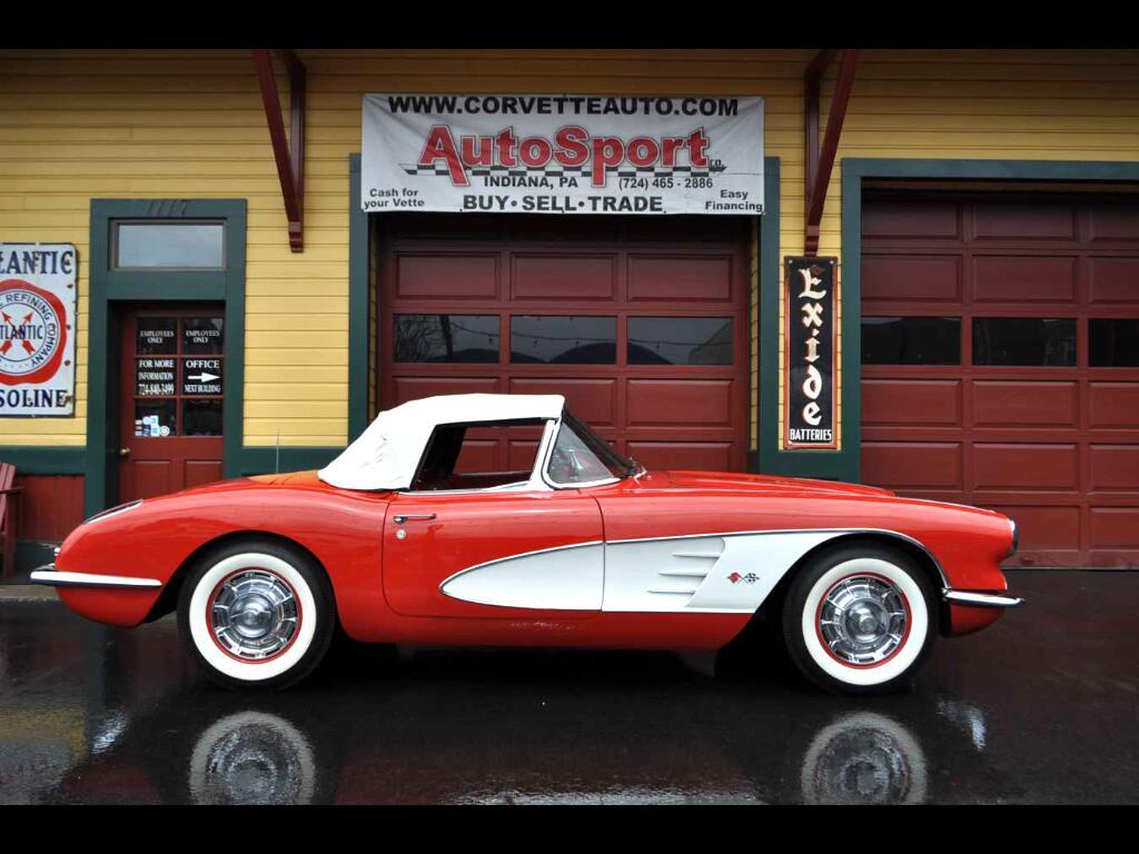1960 Chevrolet Corvette 283/270hp Frame Off Restored
