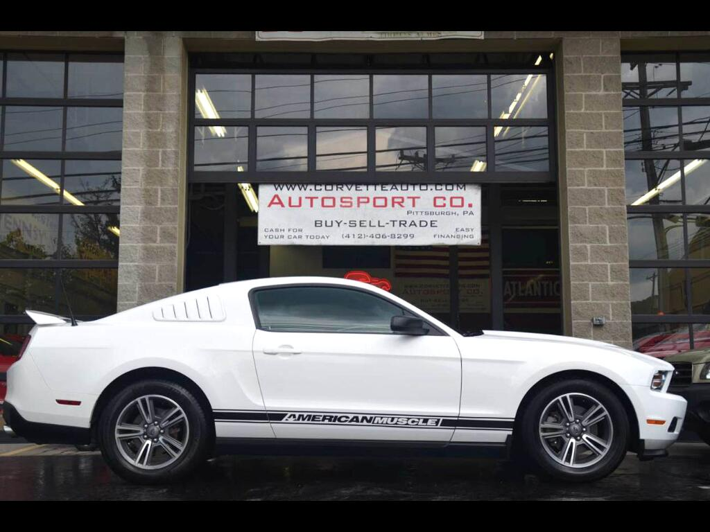 2012 Ford Mustang V6 Coupe w/Leather: 2012 Ford Mustang V6 Coupe w/Leather 76705 Miles White  3.7L V6 DOHC 24V Automat