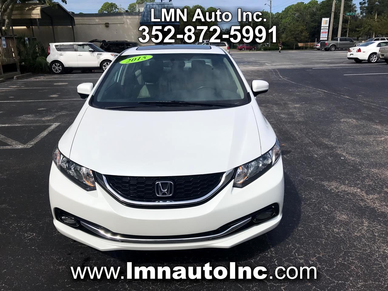 Honda Civic Sedan 4dr CVT EX-L 2015