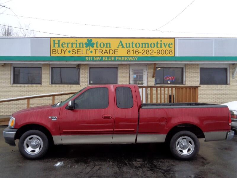 2001 Ford F-150 XLT SuperCab Short Bed 2WD