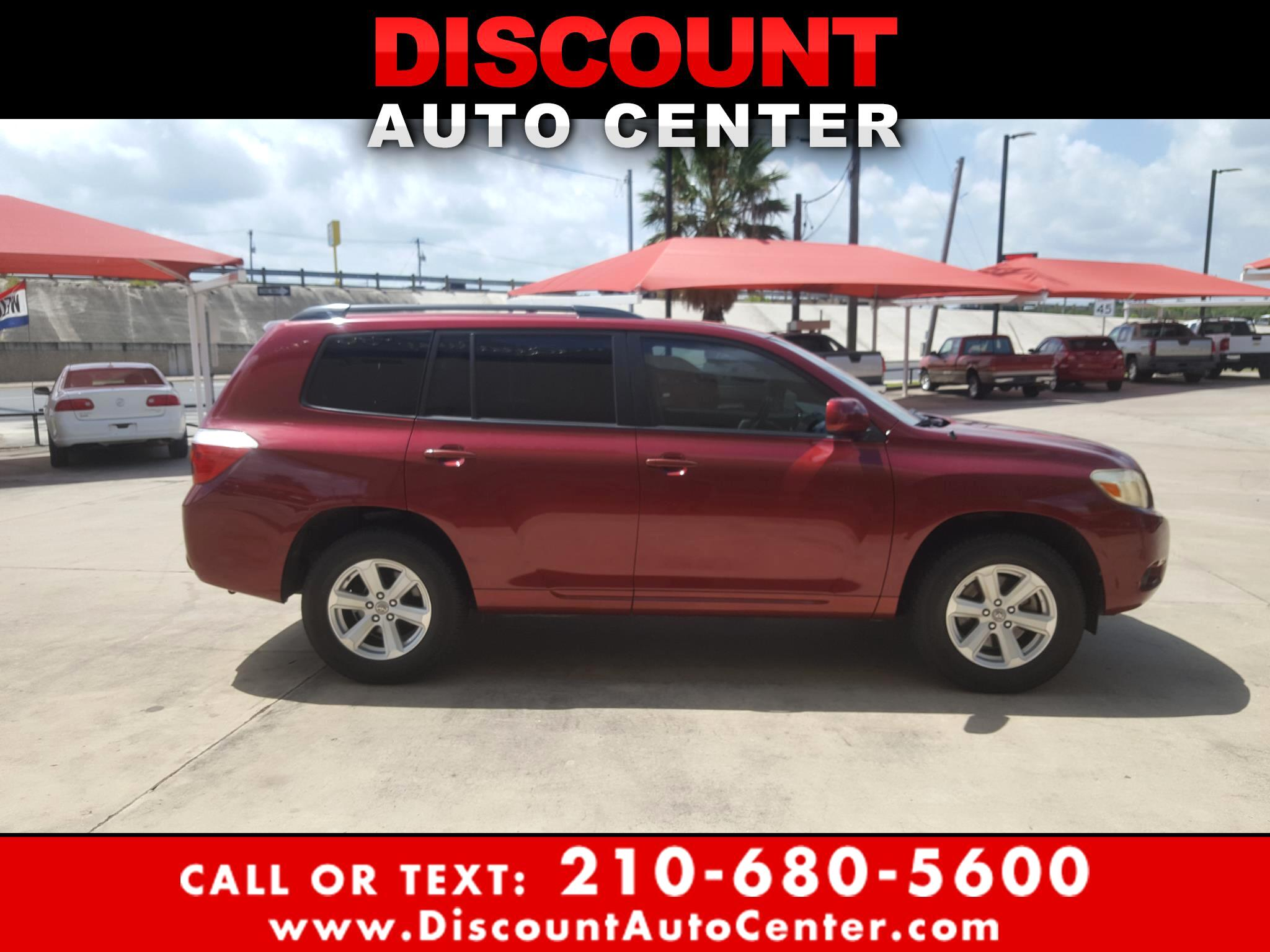 2009 Toyota Highlander FWD 4dr L4  Base (Natl)